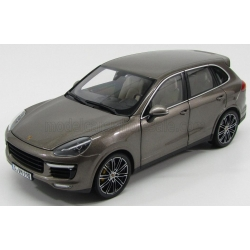 MINICHAMPS - 1/18 - PORSCHE - CAYENNE TURBO S 2013 - UMBRA BROWN MET