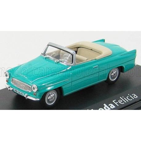 Škoda Felicia Roadster (1963) 1:43 - Tyrkysová