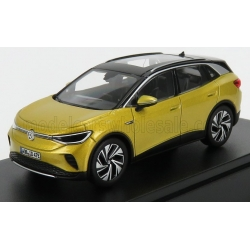 1/18 NOREV VOLKSWAGEN - ID.4 ELECTRIC SUV CAR 2020 - HONEY YELLOW MET