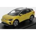 1/18 NOREV VOLKSWAGEN - ID.4 ELECTRIC SUV CAR 2020 - HONEY YELLOW MET