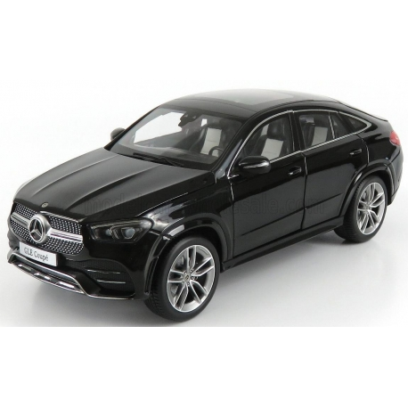 I-SCALE - 1/18 - MERCEDES BENZ - GLE-CLASS COUPE (C167) 2020 - OBSIDIAN BLACK MET
