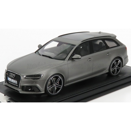 1/18 - AUDI - A6 RS6 AVANT 2017 - MATT DAYTONA GREY