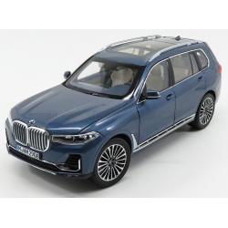 NOREV - 1/18 - BMW - X7 (G07) 2019 - BLUE MET