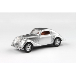 Škoda Popular Sport Monte Carlo (1937) 1:43 - Stříbrná Metalíza