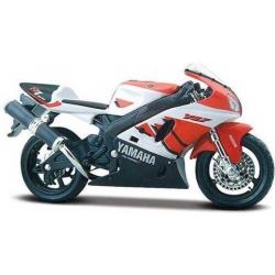 Maisto 1:18 Yamaha YZF-R7 Diecast Motorcycle  (Orange, White)