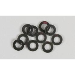 Ocelové podložky 5,3mm  15 ks