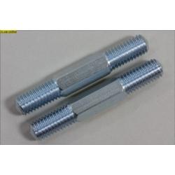 Tyč so závitom, zadná / horná 54 mm, 2 ks