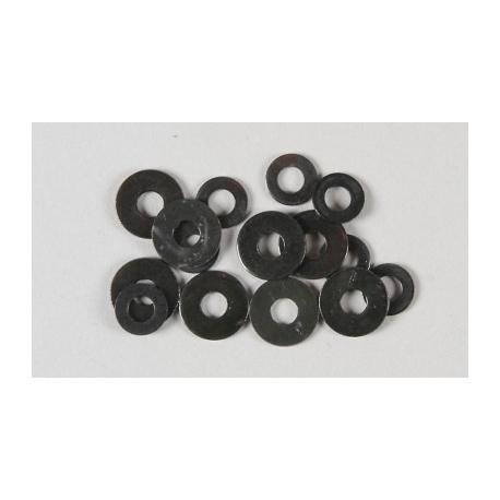 Ocelové podložky 4,3mm, 15ks