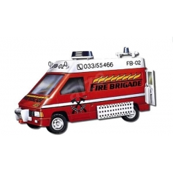 Monti system 45 – Fire Brigade-Renault Trafic 1 : 35