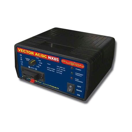 Fusion nabíjač Vector NX85 4-8 NiMH 0.5-5A AC / DC